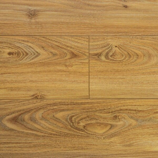 7 x 48 x 2.3 mm Laminate Flooring in Golden Oak (Set of 22) by Serradon