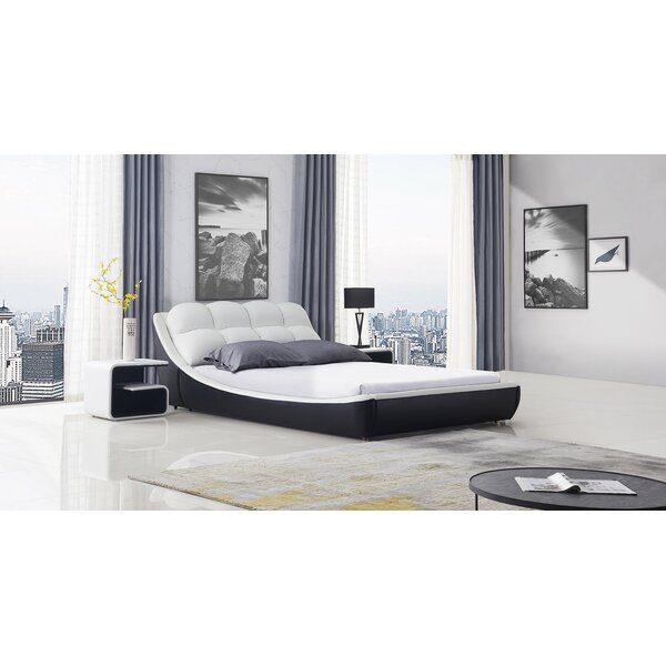 Cornelie Upholstered Platform Bed By Orren Ellis by Orren Ellis 2020 Sale