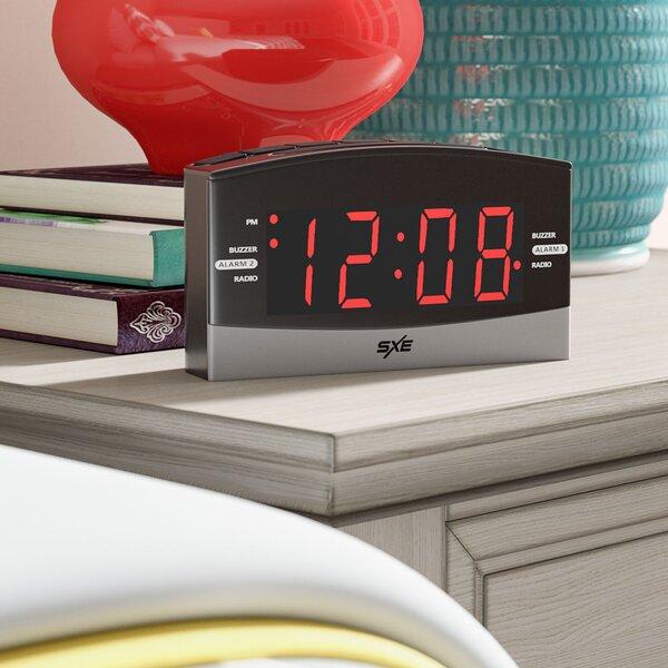 1.8 Radio Alarm Clock by Zipcode Design