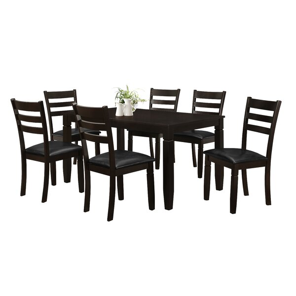 Winnetka 7 Piece Dining Set by Red Barrel Studio