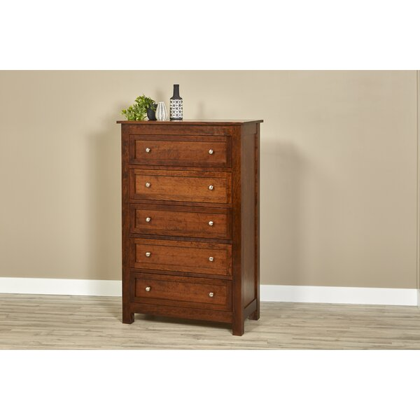 Buker 5 Drawer Chest by Darby Home Co