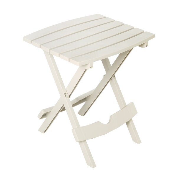 Amiya Folding Plastic Side Table By Rosecliff Heights