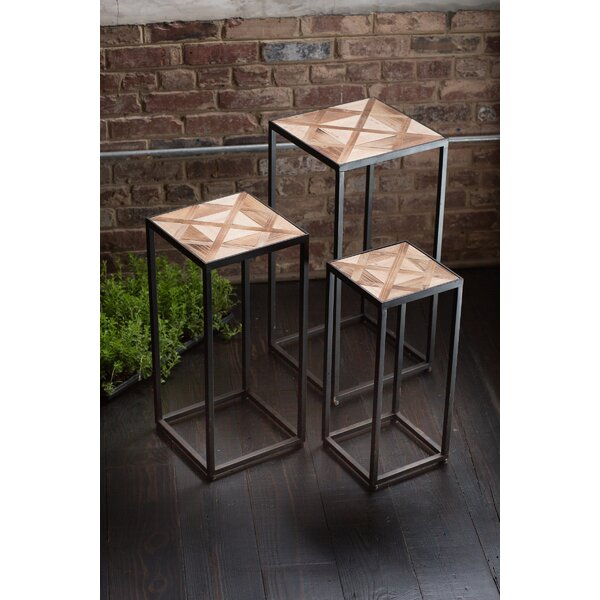 Caffrey Wooden Nesting Tables (Set of 3) by Union Rustic
