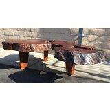 Drayton Solid Wood 3 Legs Coffee Table by Loon Peak®