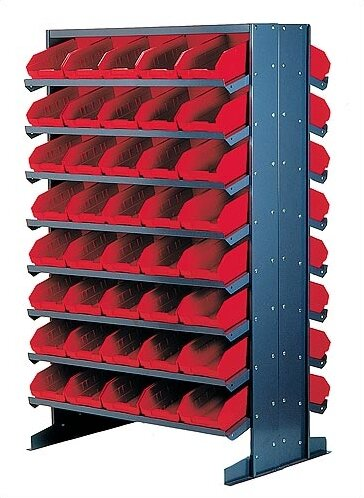 Double Sided Pick Rack Storage System by Quantum Storage