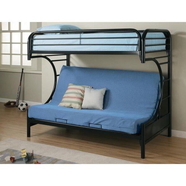 Reisman Twin Over Full Futon Bunk Bed by Harriet Bee
