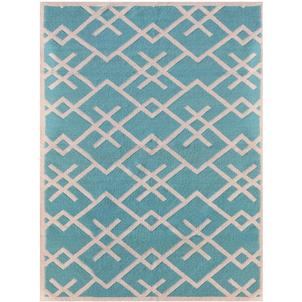 Welborn Blue Area Rug by George Oliver