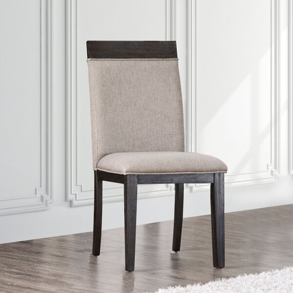 Alvardo Upholstered Dining Chair (Set of 2) by Union Rustic