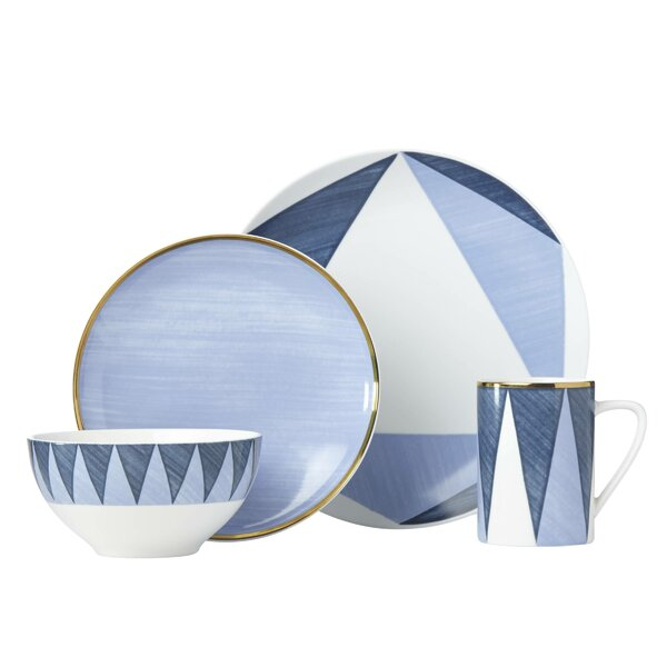 Luca Andrisani Acuto 4 Piece Place Setting, Service for 1 by Lenox