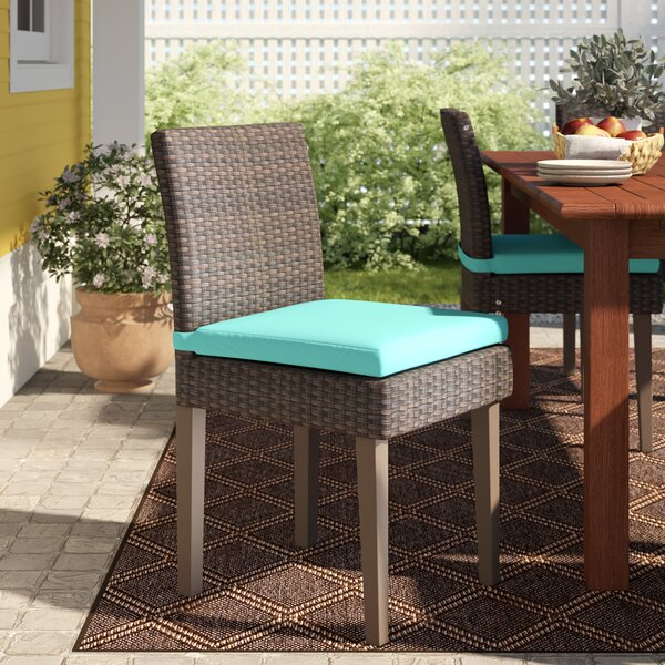 Tegan Patio Dining Chair with Cushion (Set of 8) by Sol 72 Outdoor Sol 72 Outdoor