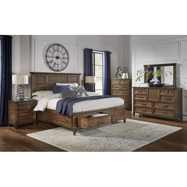 Minixside Storage Platform Configurable Bedroom Set by Alcott Hill