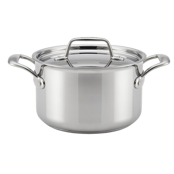 Thermal Pro™ Clad Stainless Steel Stock Pot with Lid by Breville
