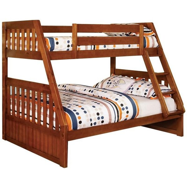 Joslin Twin Extra Long Over Full Bunk Bed by Harriet Bee