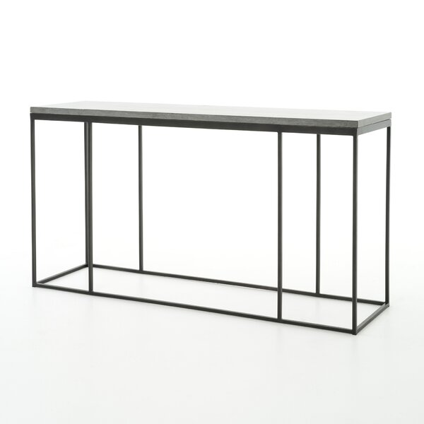Donati Console Table by 17 Stories