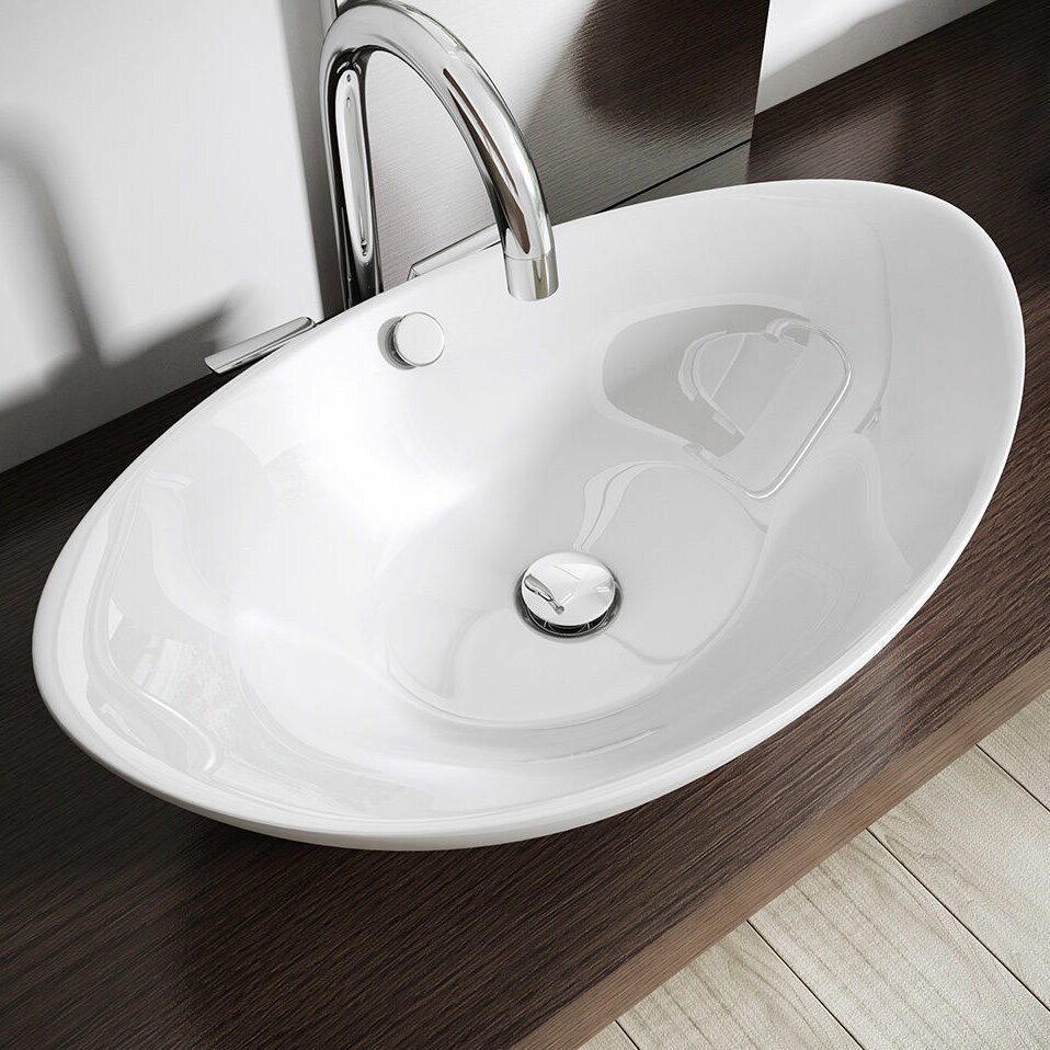 Brussels Oval 38cm Countertop Basin