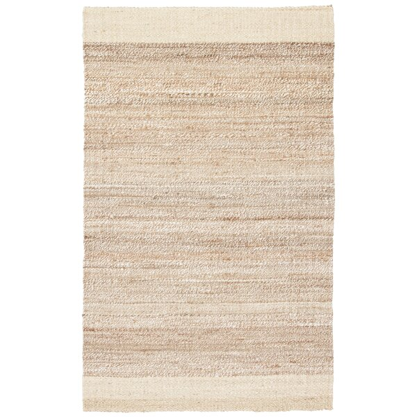 Raposa Ivory/Natural Area Rug by Bay Isle Home