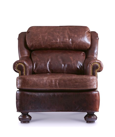 Find For Bradley Armchair By Leathercraft Buying Accent