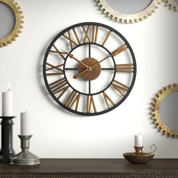 Winterville Round Wall Clock by Greyleigh
