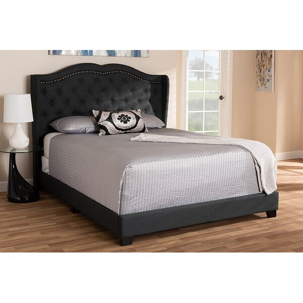 Tarangini Upholstered Standard Bed by Charlton Home