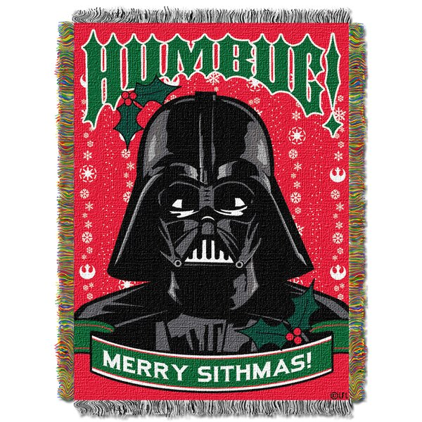 Star Wars Classic Humbug Throw by Northwest Co.
