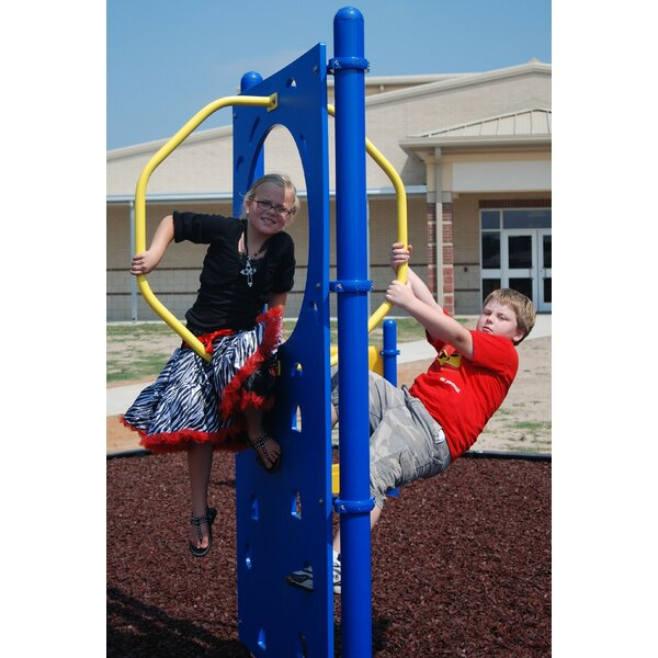 Climbing Wall with Hoop by Kidstuff Playsystems, Inc.