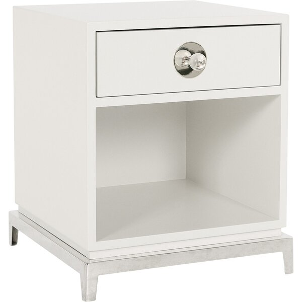 Channing End Table with Storage by Jonathan Adler Jonathan Adler