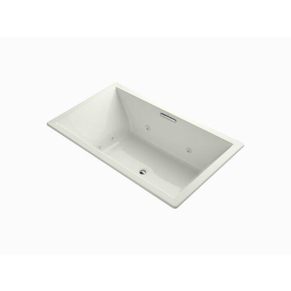 Underscore 72 x 42 Drop-in Whirlpool with Heater by Kohler