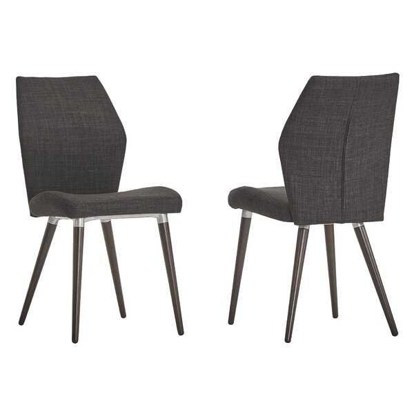Bloch Upholstered Dining Chair (Set of 2) by Mercury Row