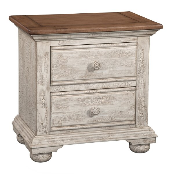 Wabansia 2 Drawer Nightstand by Ophelia & Co.