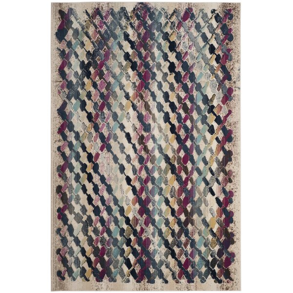 Keid Cream Area Rug  by Brayden Studio