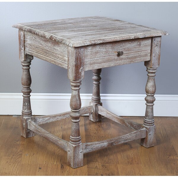 Carrillo End Table With Storage By Millwood Pines