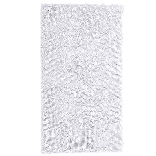 High Pile White Area Rug by Lavish Home