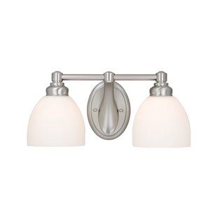Coupon Tiedemann 2-Light Vanity Light By Three Posts