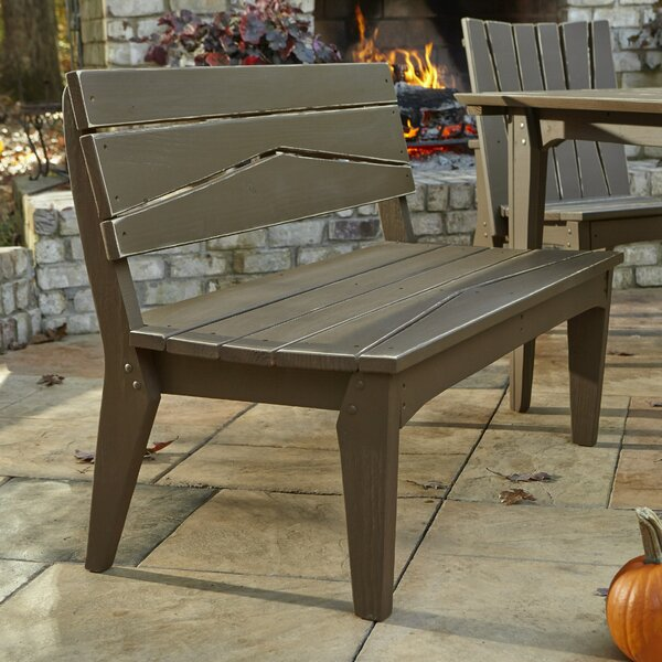 Hourglass Garden Bench by Uwharrie Chair