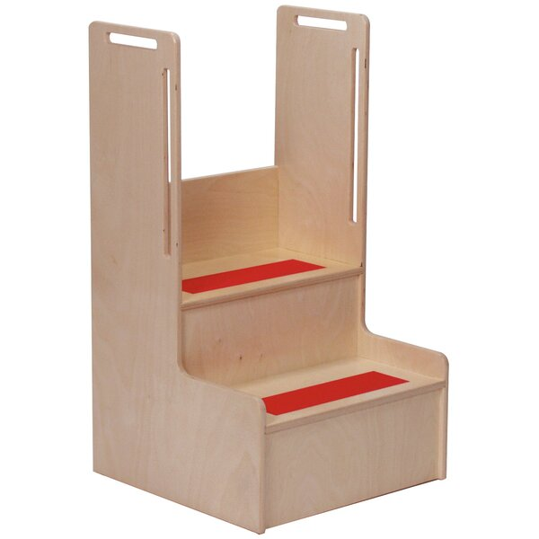 Clarendon Step Stool By Symple Stuff ♎ Footstool Or
