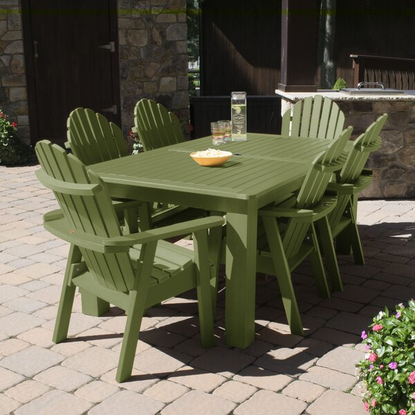 Wyrick 7 Piece Dining Set by Breakwater Bay