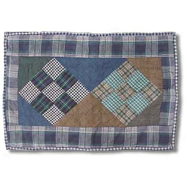 Chambray Nine Patch Placemat by Patch Magic