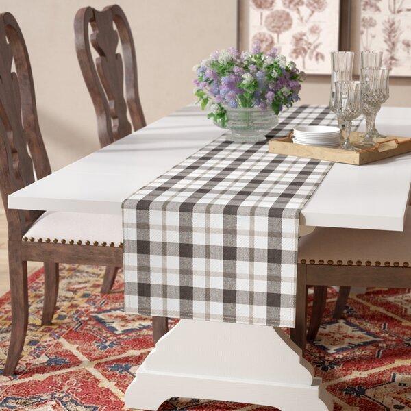 Lucerne Plaid Table Runner by Laurel Foundry Modern Farmhouse