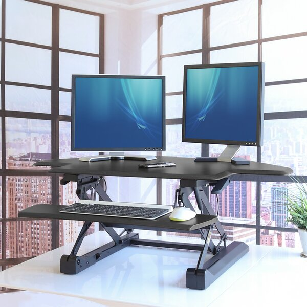 Ozias Standing Desk Converter by Ebern Designs