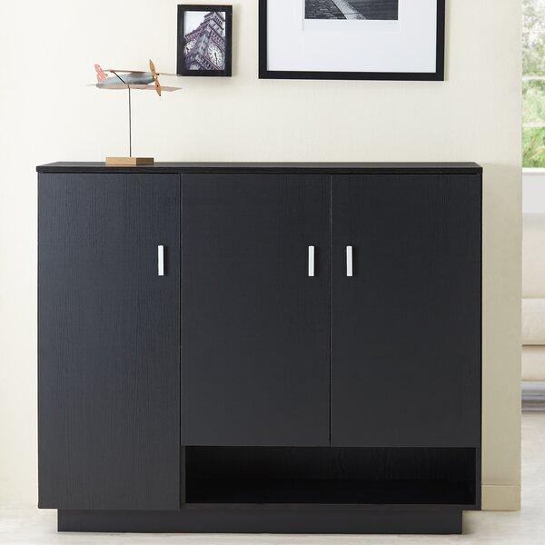 Dominica 15-Pair Shoe Storage Cabinet by Hokku Designs