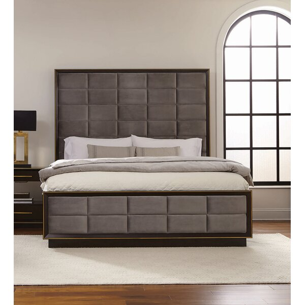 Teme Upholstered Standard Bed by Mercer41