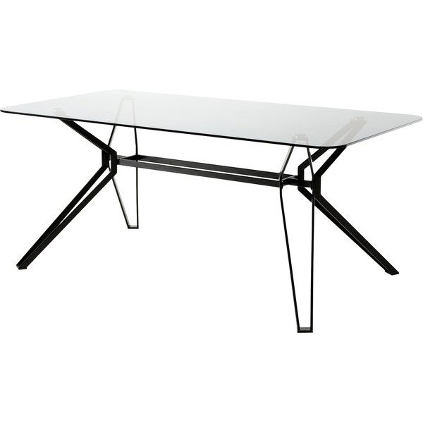 Camron Metal Base Dining Table by Orren Ellis