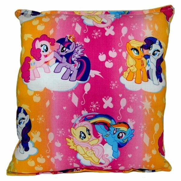 My Little Pony Indoor/Outdoor Throw Pillow by Versalot