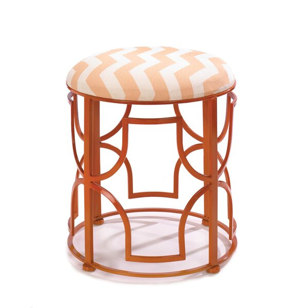 Chic Chevron Stool by Zingz & Thingz