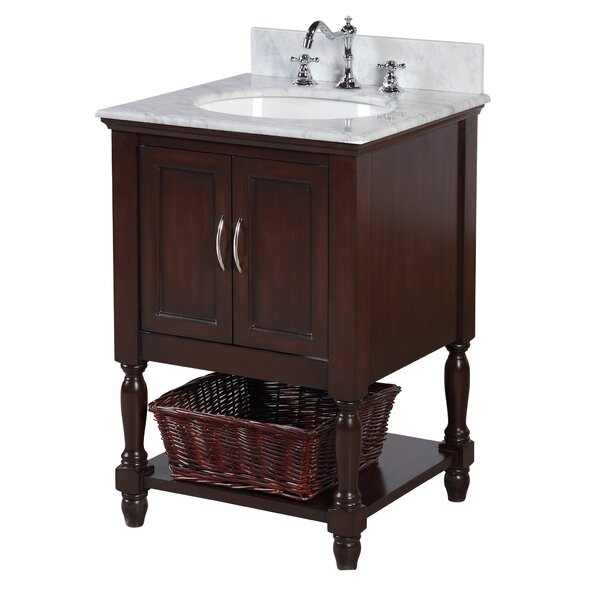 Beverly 24 Single Bathroom Vanity Set by Kitchen Bath Collection