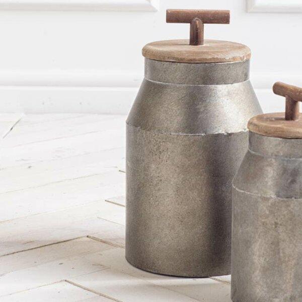 Harrietta Metal Pot Planter by Gracie Oaks