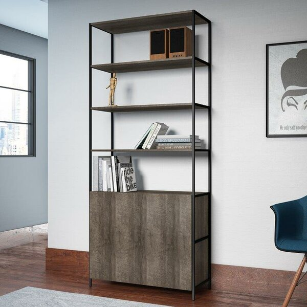 Cayenna Wide Standard Bookcase by Union Rustic