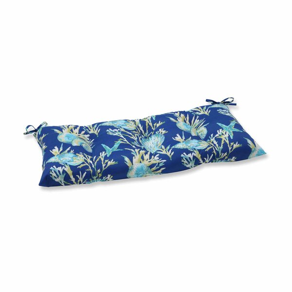 Daytrip Indoor/Outdoor Bench Cushion by Pillow Perfect