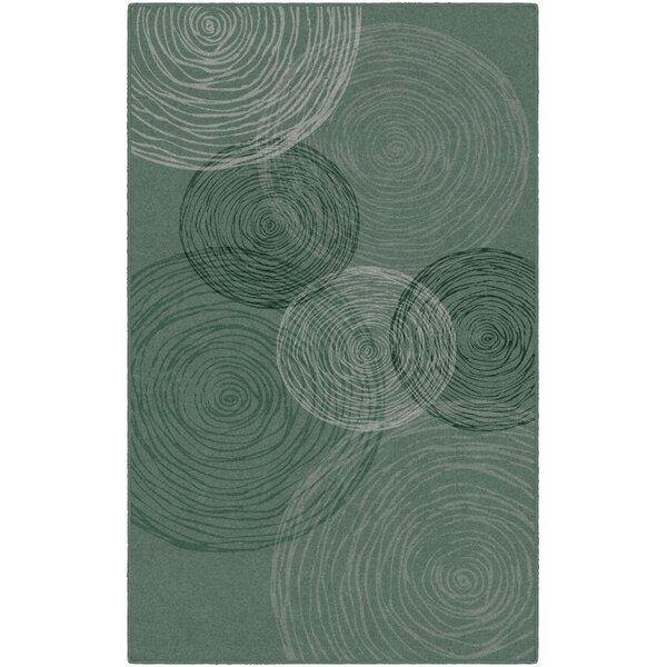 Claunch Pinwheels Area Rug by Ebern Designs
