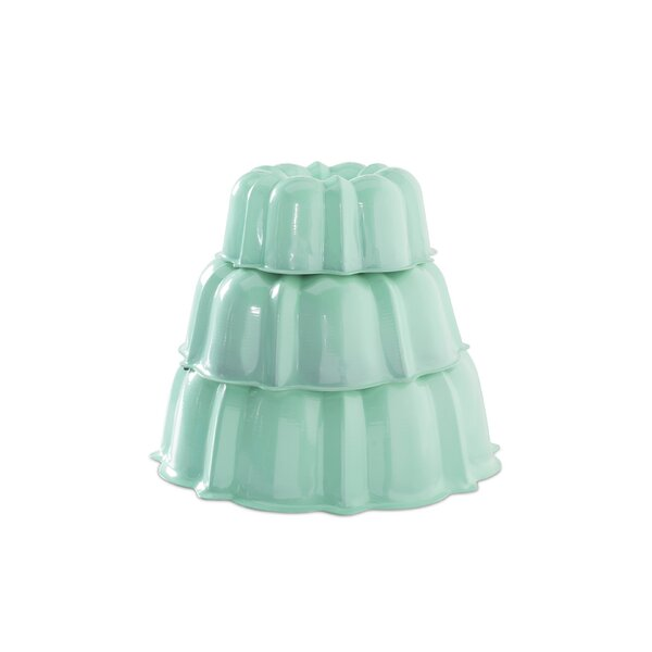 Round 3 Piece Tiered Bundt Cake Pan Set by Nordic Ware